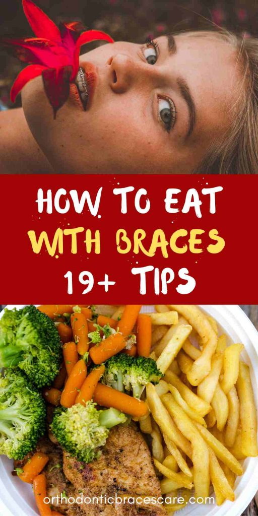 How to eat with braces - food ideas and tips