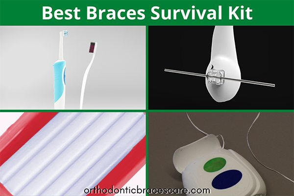Essential dental kit for braces survival